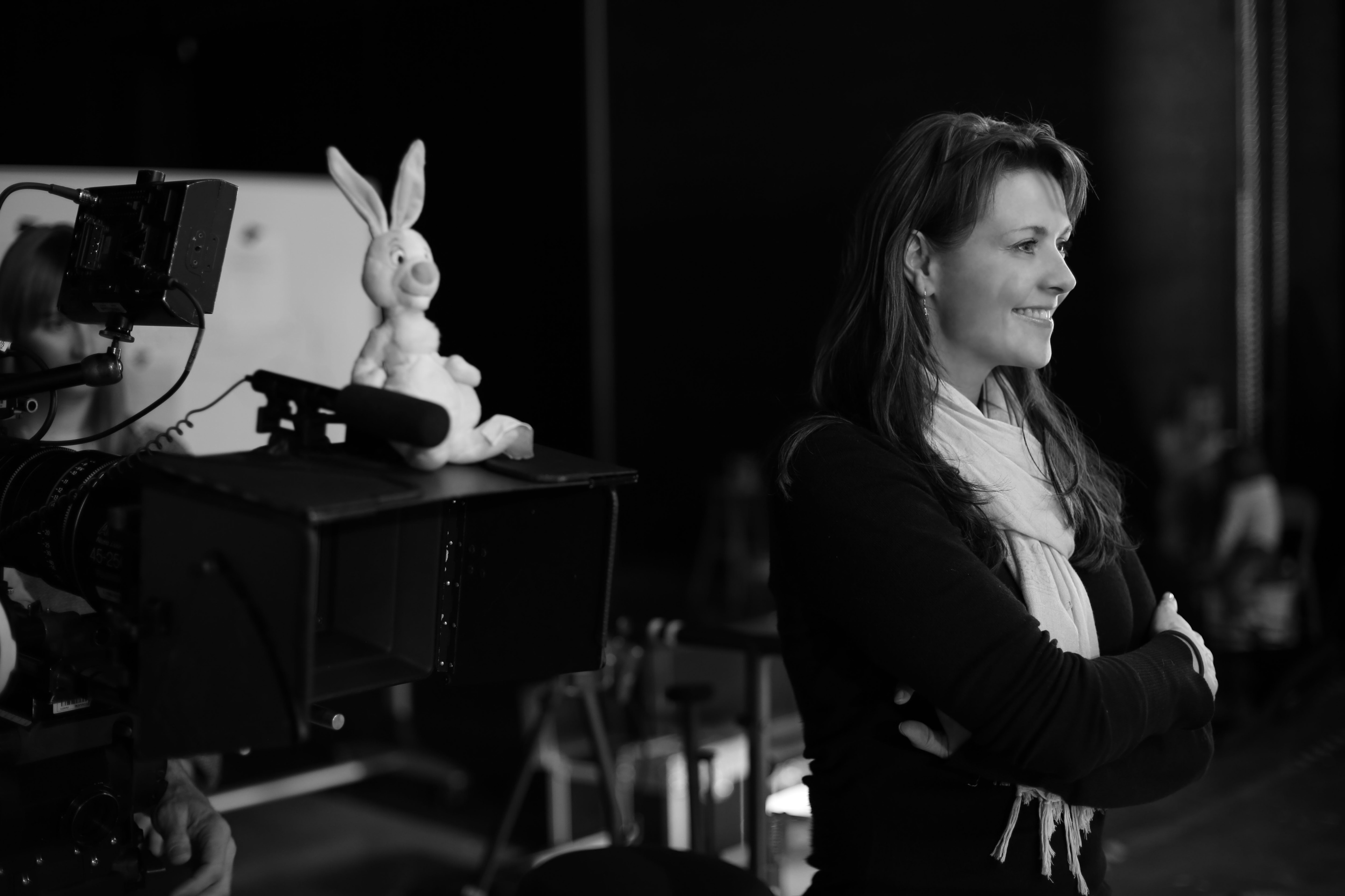 Amanda directing music video